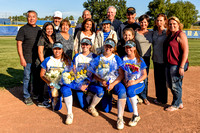 Agoura softball Seniors 2016
